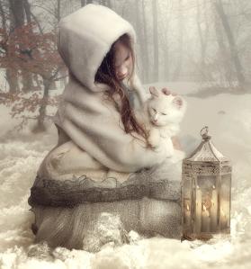 meisje-in-de-sneeuw