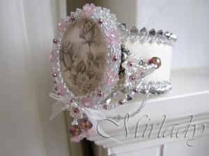 Bracelet Shabby Roses ©2013 Mirlady® - Miranda Groenendaal