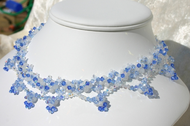 Necklace Moon Beam © Mirlady® Free Pattern
