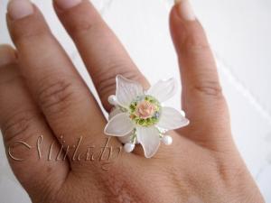 Tensha ring © Mirlady® Jewel Art - Miranda Groenendaal 2013