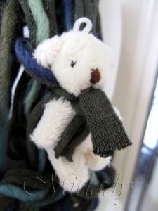 Sjaal - techniek armbreien  - © Mirlady 2013