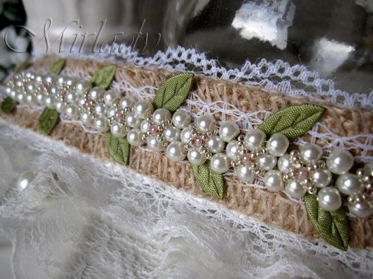 Burlap Bracelets  © 2015-2016 Mirlady® - Miranda Groenendaal