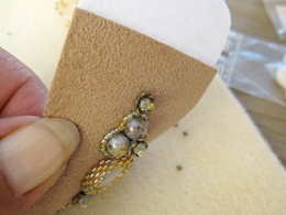 05 How to; Free form cuff bracelet - Bracelet La Dune - Mirlady® Jewel Art