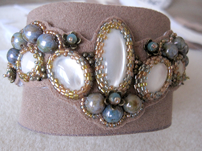 16 How to; Free form cuff bracelet - Bracelet La Dune -  Mirlady® Jewel Art