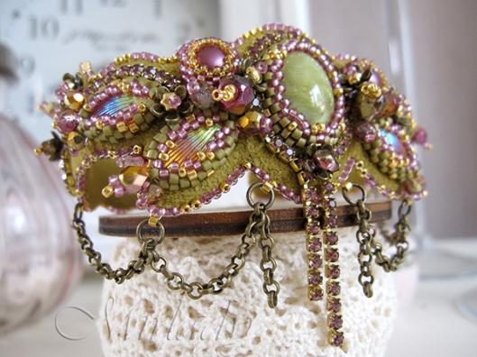 Armband Orchidea